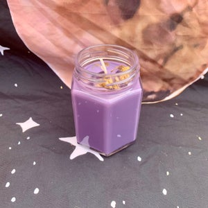 Lavender Relaxation 6 oz Hexagon Candle