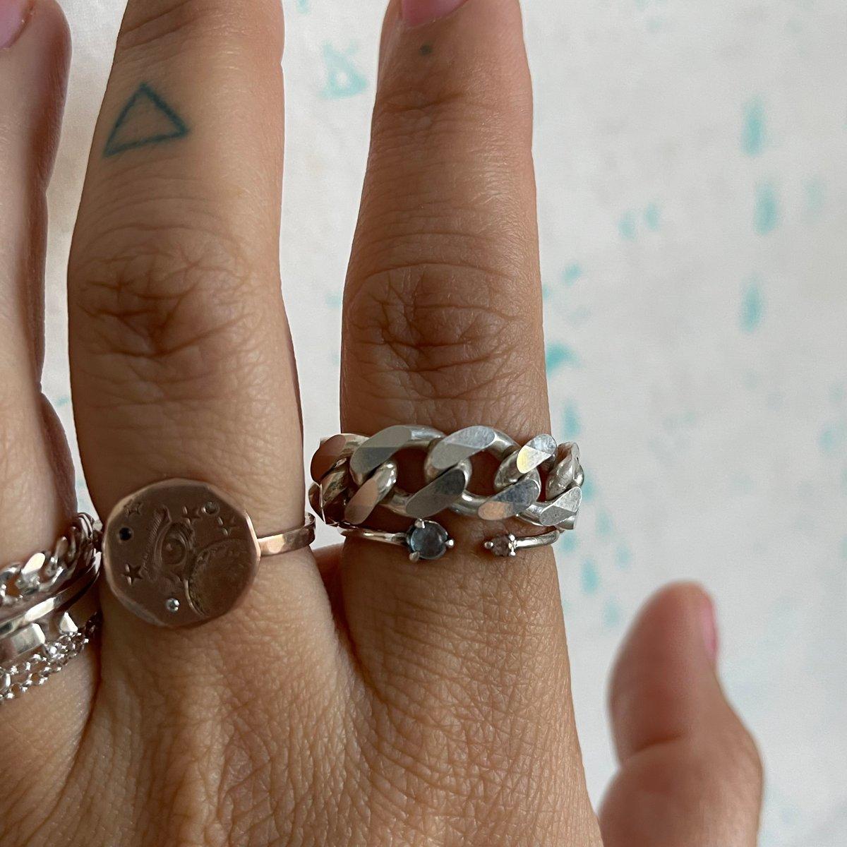 Image of big cuban chain ring