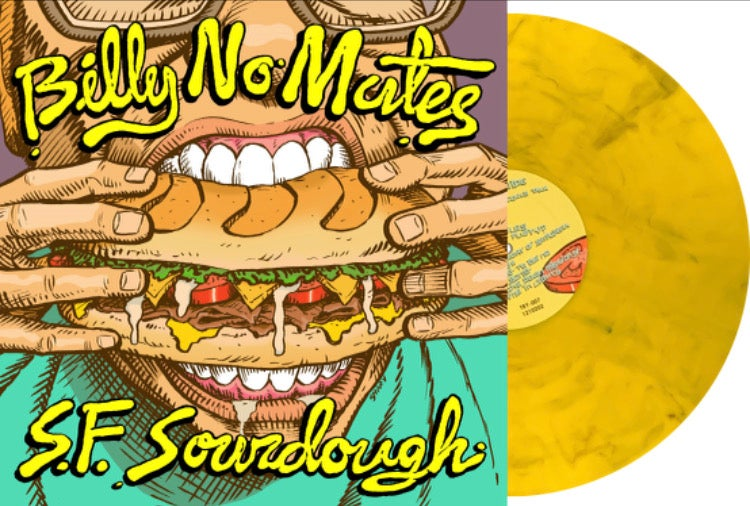Billy No Mates - Yellow Or Red Swirl Colour Vinyl