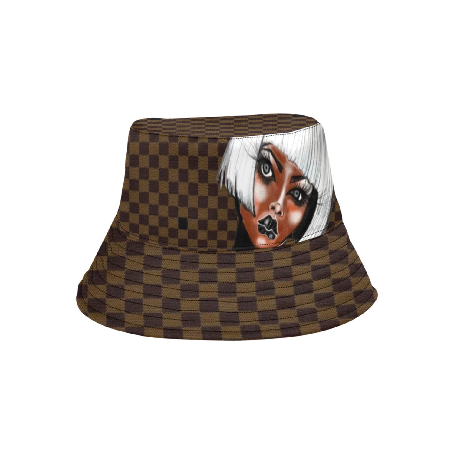 Image of CHECK MATE BUCKET HAT