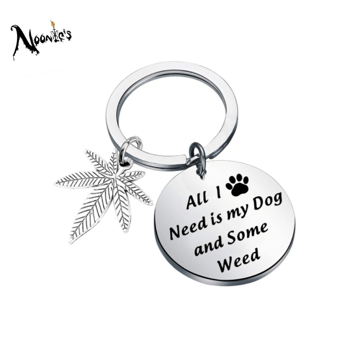 Image of Best of both worlds keychain