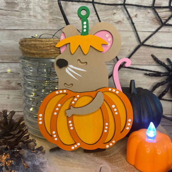 Image of Pip the Pumpkin Mouse
