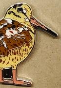 Woodcock - October 2021 - UK Birding - Enamel Pin Badge