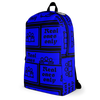 Blue Real Ones Only JoseyBag Backpack
