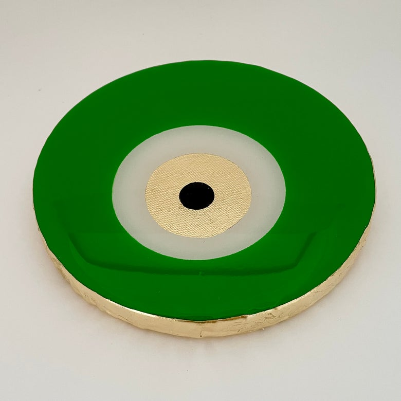 Image of Evil Eye Apple Green 20cm