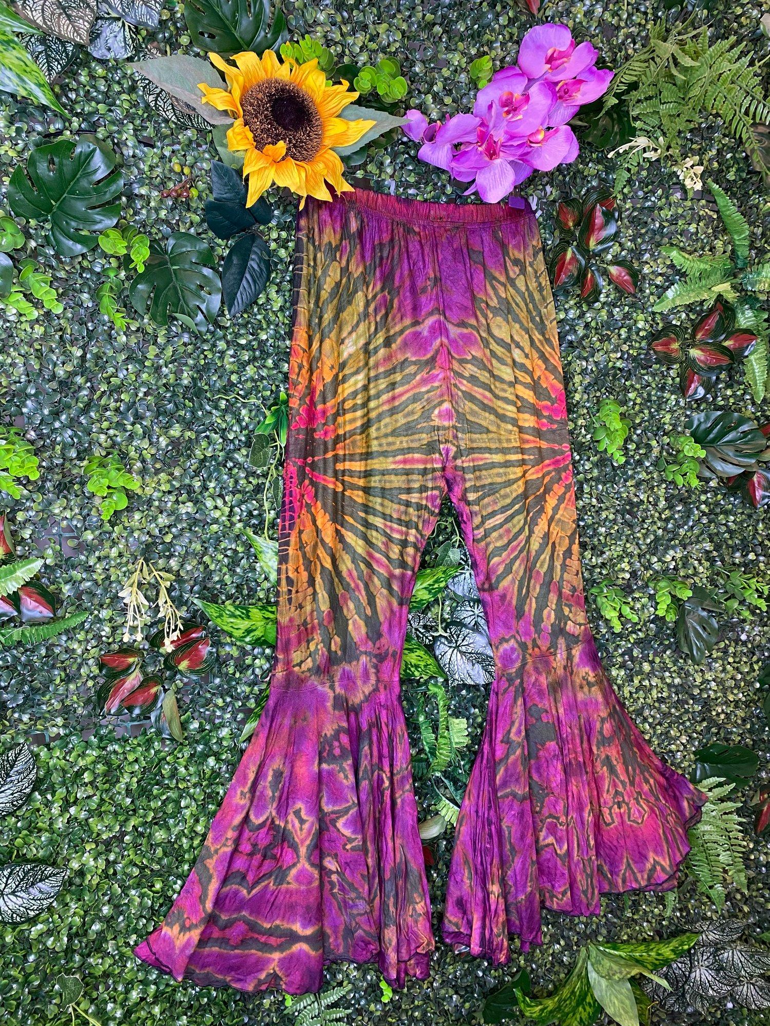 Image of Tie Dye Flares - Tivoli