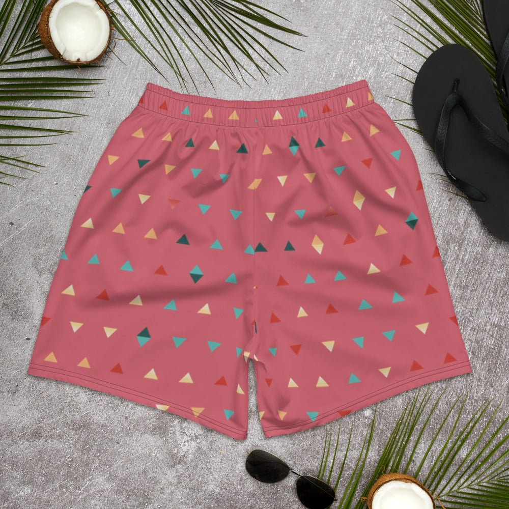 Image of Colorful Triangles Men's Shorts