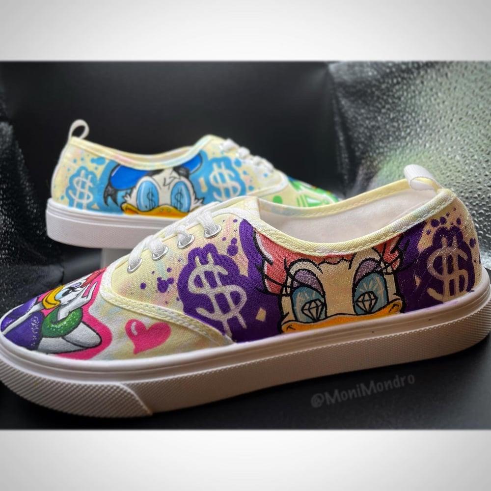 Daisy & Donald Painted Kicks