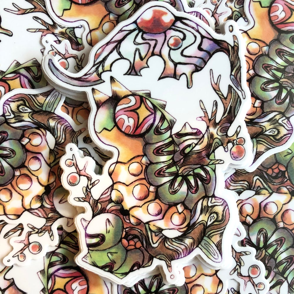 Image of Dragopillar Sticker