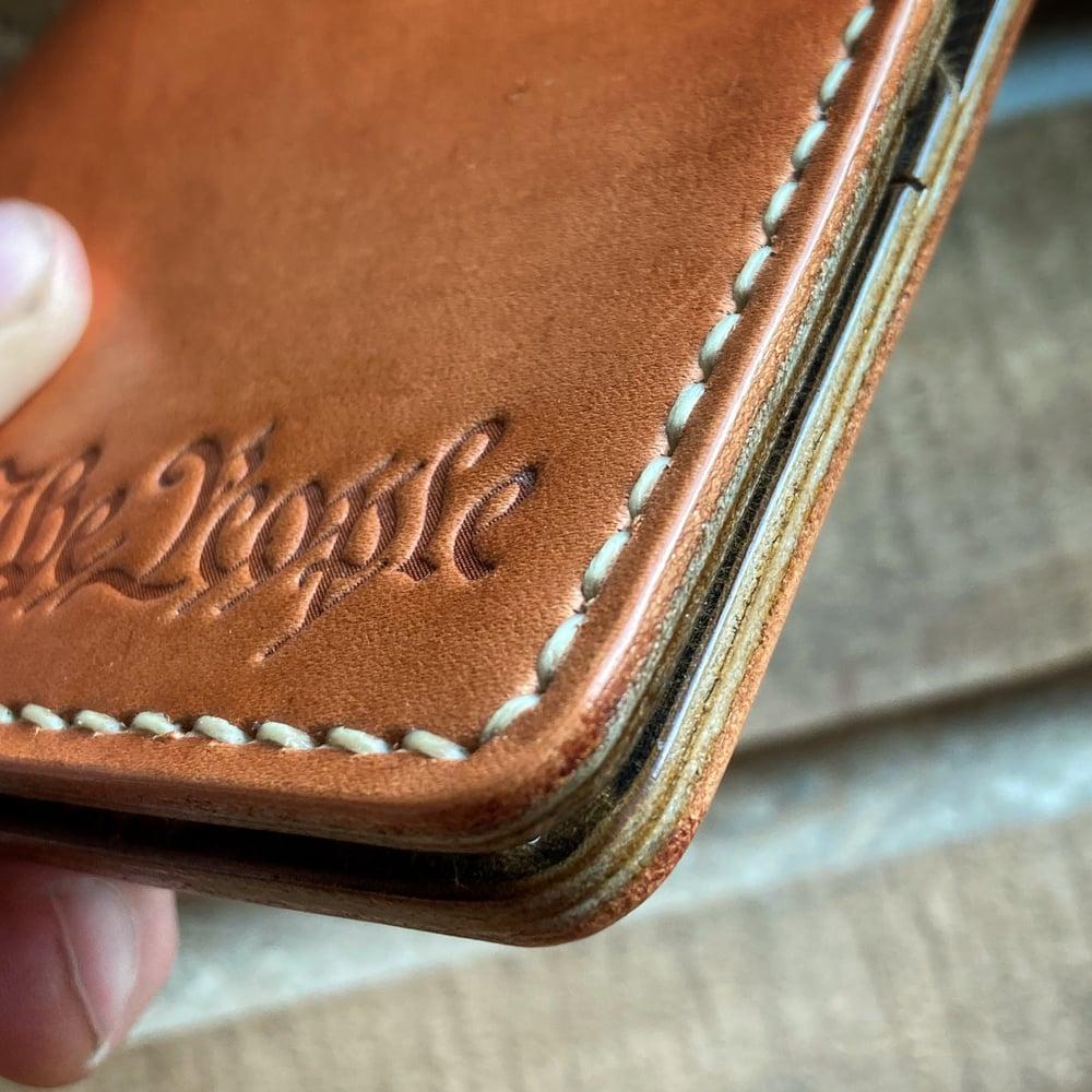 Image of Regal Billfold - Raw Hermann Oak - We The People