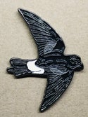 Wilson's Storm-petrel - Scilly Pelagics - Enamel Pin Badge