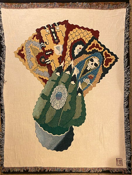 Image of Hand Of Fate Woben Blanket PREORDER