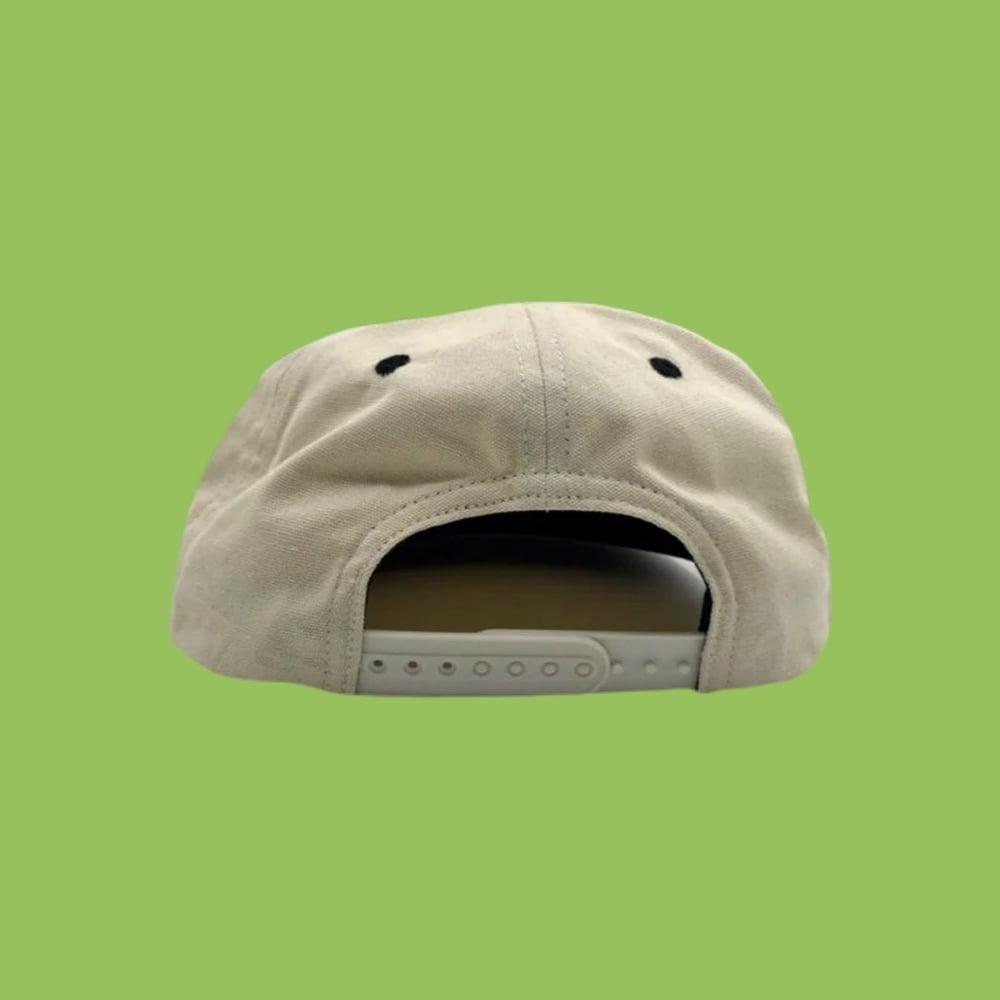 Image of NEW 100% Natural Hemp Snapback Hat!