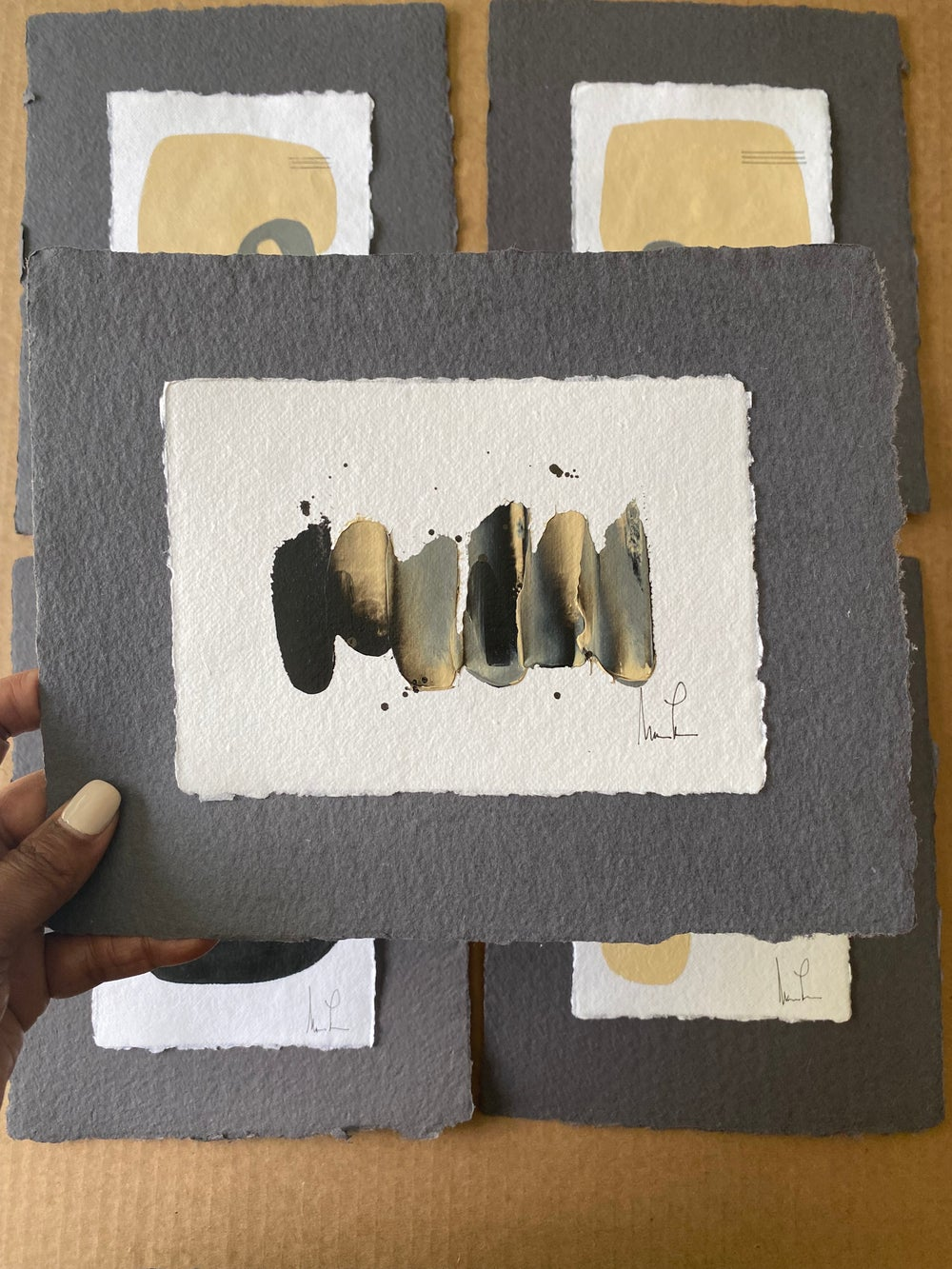 Image of ML • Handmade Paper Charcoal Collection 5