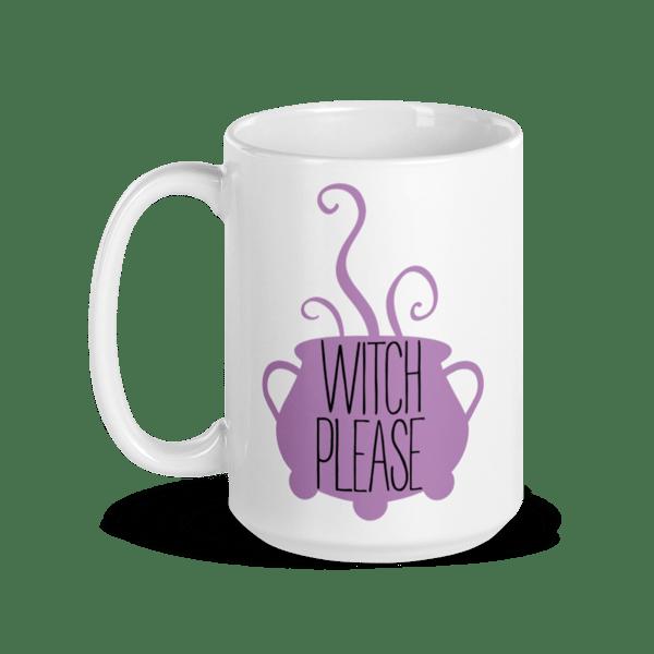Image of Farmhouse Style Witch Please Ceramic Mug