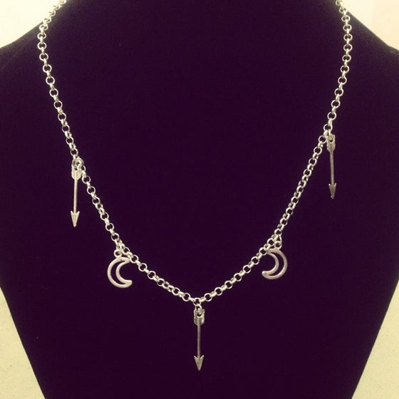 Image of Luna warrior necklace