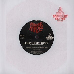 "Image of AMAZING MAZE ""This Is My Hood Remix"" 7"""