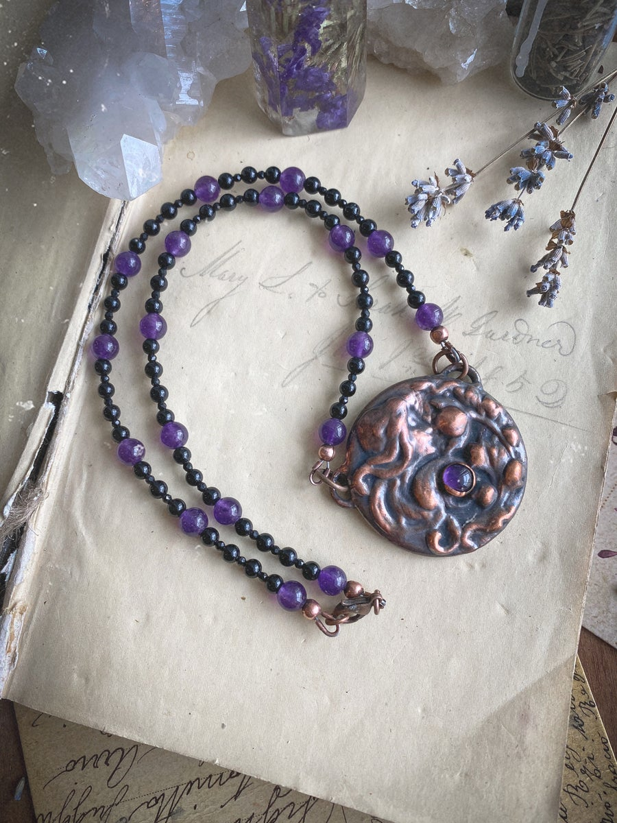 Image of Sister Of The Garden Small Amethyst