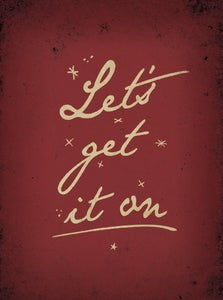 Image of Let's Get It On