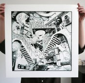 Image of Theres A Party On M.C.Eshers Grave Tonight - Screen Print