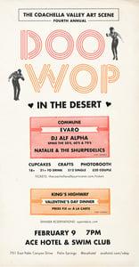 Image of DOO WOP IN THE DESERT - Single's Ticket