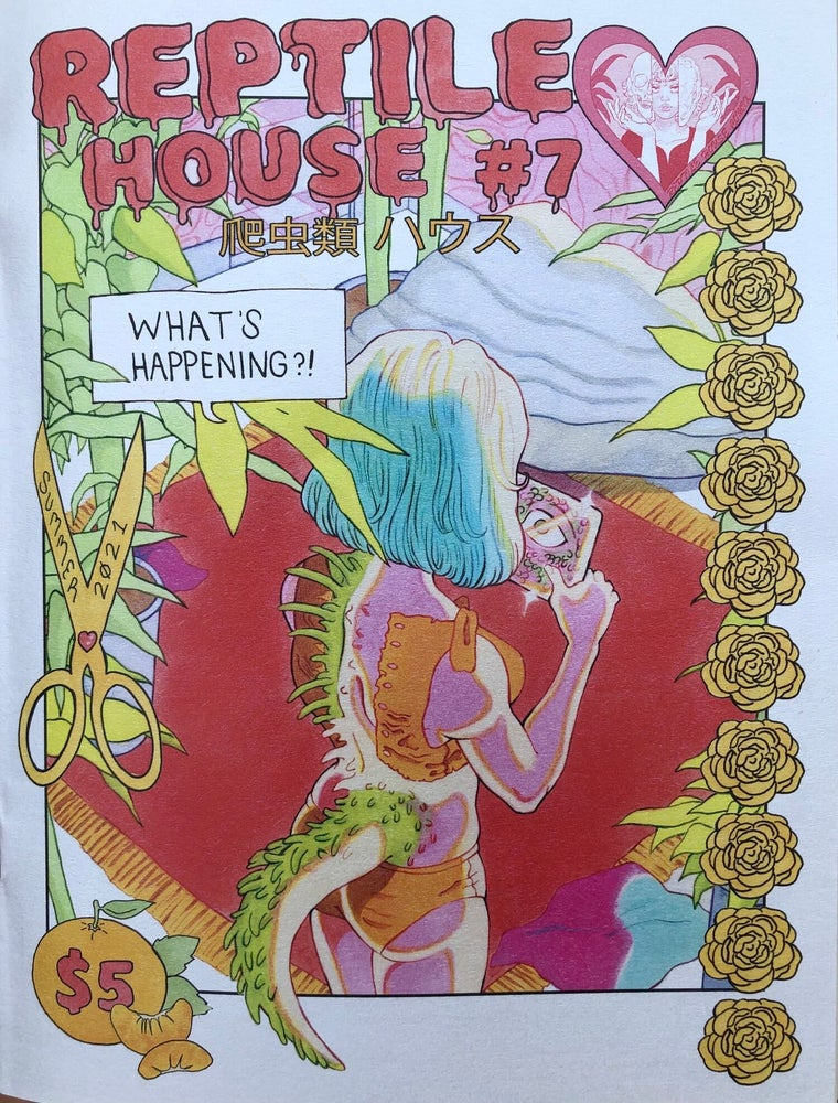 Image of Reptile House #7 go to reptilehousecomix.com for more!