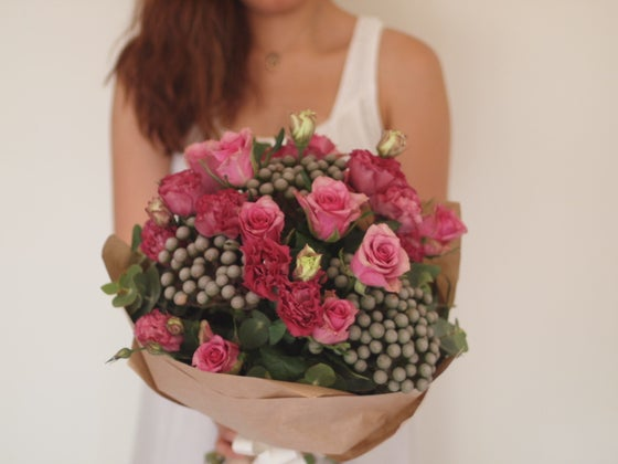 Image of Large Pink Mixed Bouquet