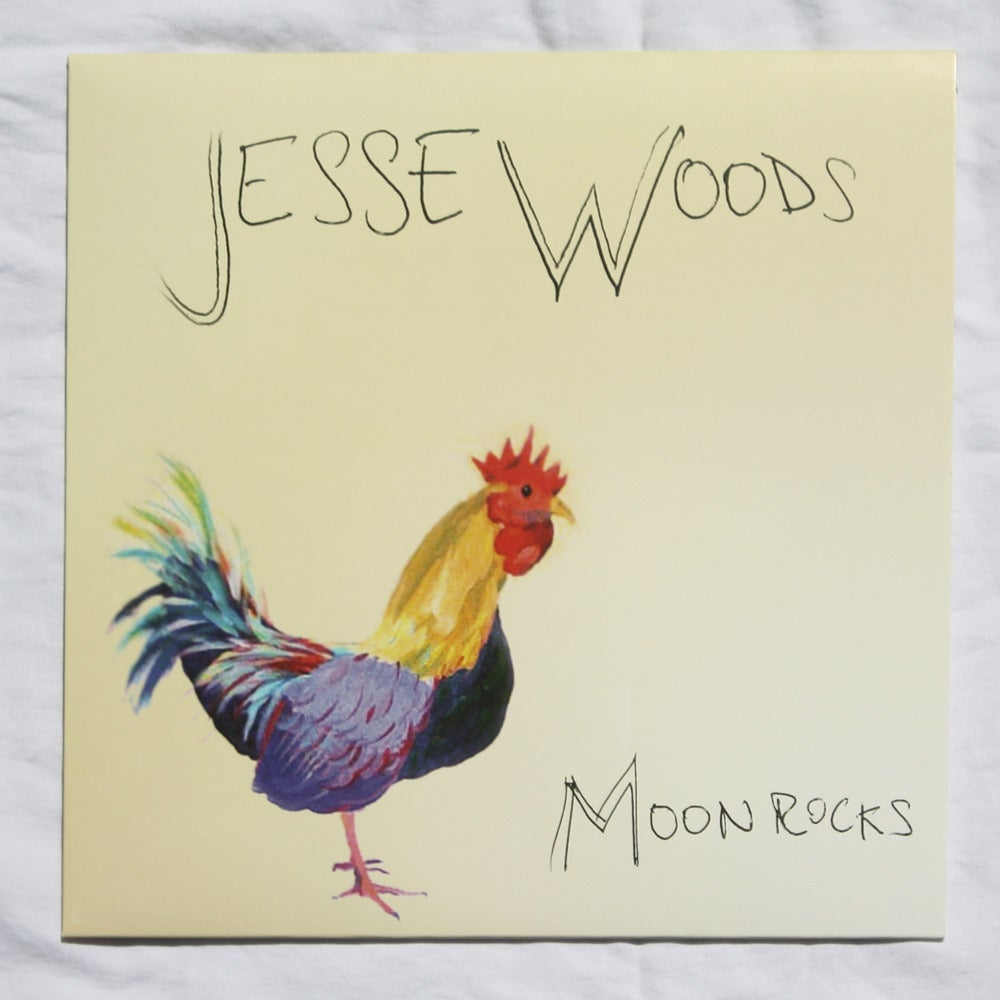 "Image of Jesse Woods - Moon Rocks - 10"" Vinyl"