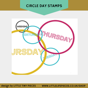 Image of Circle Day Stamps
