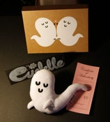 Image of worm/ghost - Hand Made Plush Doll