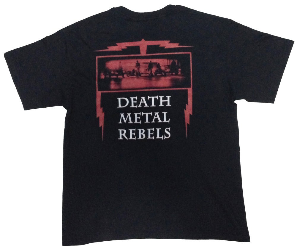 "NECROCURSE ""Death Metal Rebels"" T-Shirt"