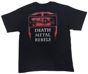 "Image of NECROCURSE ""Death Metal Rebels"" T-Shirt"