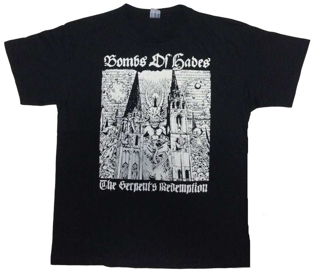 "BOMBS OF HADES ""The Serpent's Redemption"" T-Shirt"