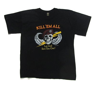 Image of Kill 'Em All Black T-Shirt