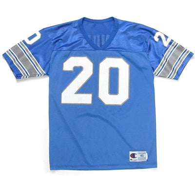 Image of Champion Barry Sanders Detroit Lions Jersey
