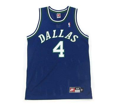 Image of Nike Michael Finley Dallas Mavericks Away Jersey