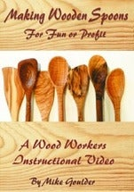 Image of Making Wooden Spoons For Fun And Profit dvd