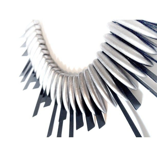Image of Exclusive Spike Bib Statement Necklace