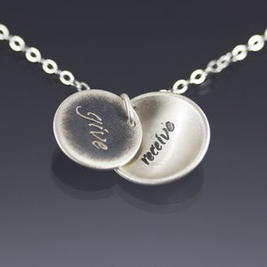 Image of Give / Receive Necklace