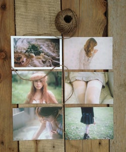 Image of Windswept Letters Postcard Set