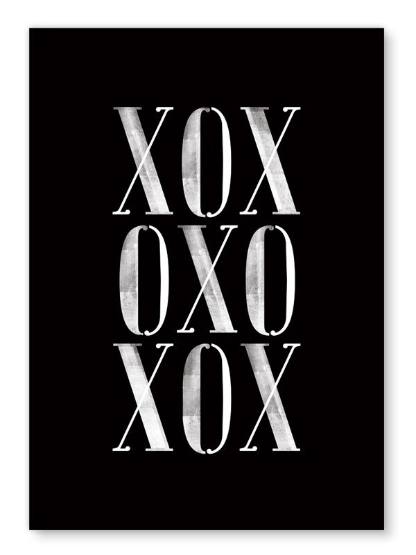 Image of XOX art print