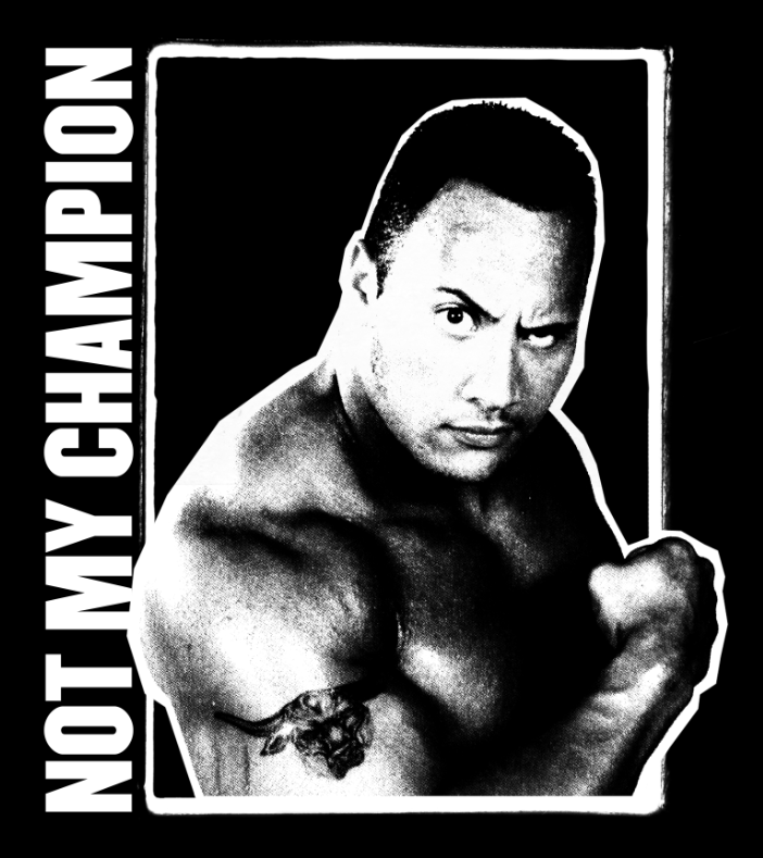 Image of Not My Champion tee (size S-3XL available!)