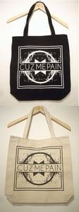 Image of CUZ ME PAIN TOTE BAG