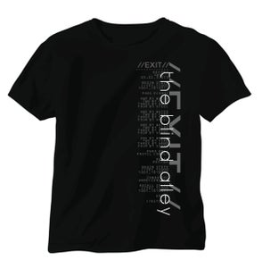 Image of Exit - The Blind Alley script shirt