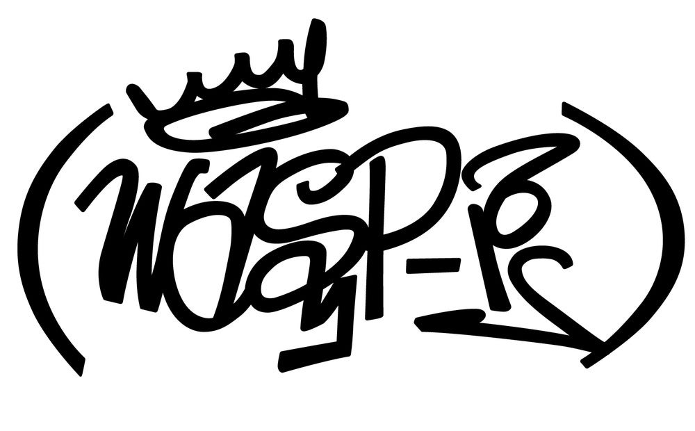 Image of PREMIUM Wasp-1 Graffiti Black Book