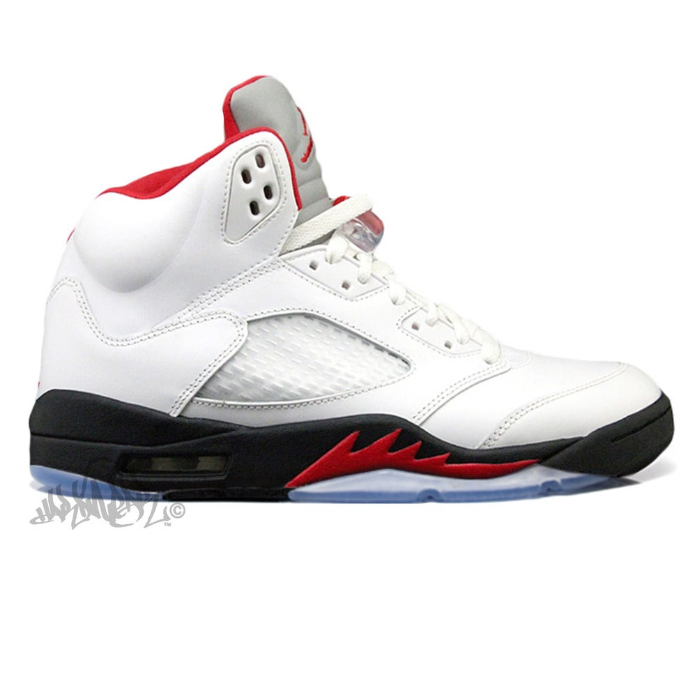 Image of AIR JORDAN 5 - FIRE RED - 136027 100
