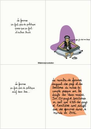 """Image of Livre """" Les femmes, ça fait pas de politique """" > Les pages intérieures"""