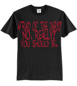 "Image of ""Afraid Of The Dark?"" T-Shirt"