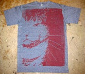 "Image of MJL ""Sparky RIP"" T-Shirt Shirt, Dark Heater Navy"