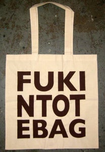 "Image of MJL ""FUKINTOTE"" Tote Bag,"